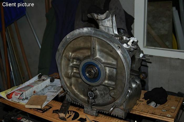 Gufero setrvačníku - Typ 1 motor (» 1965)