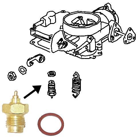 Ventil přepouštěcí/karburátor - Typ 1/2/3/14/25/34/181 (1952 »)