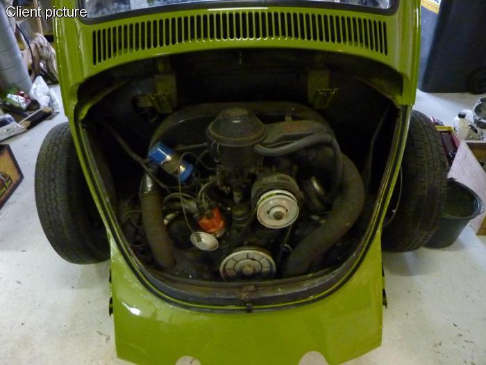 Těsnění zadní kapoty - Typ 1 (1967 » 85)