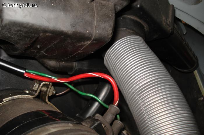 Hadice/propojka odvětrání boxu - Typ 1 motor (1972 » 03)