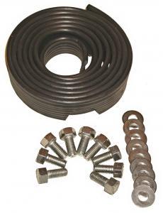 Těsnění blatníku/černé+montážní set - Typ 1 (» 2003)