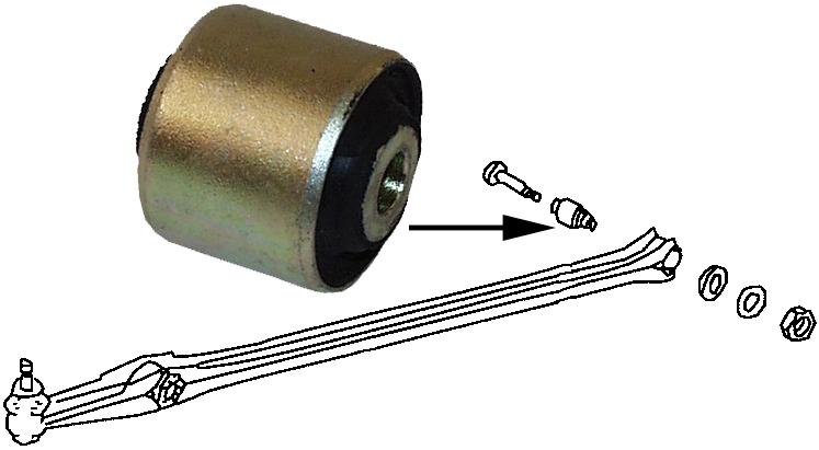 Pouzdro ramene/přední L/P - T.1 1302/03 (1970 » 80)