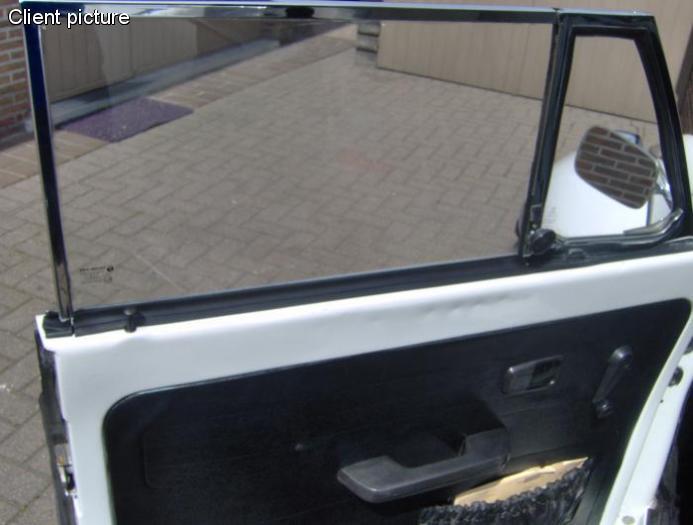 Těsnění stahování skla/vnitřní přední/zadní - T.1 Cabrio (1964 » 80)