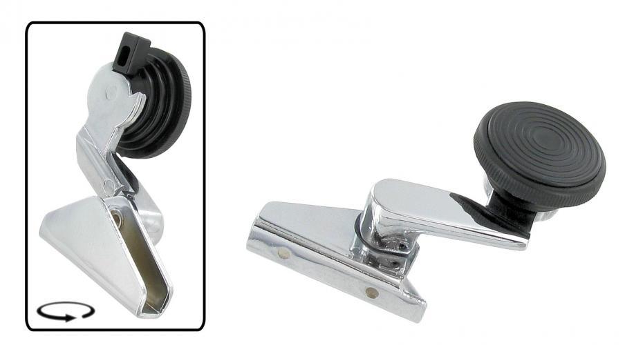 Klička ventilace/chrom P - T.1 Cabrio (1967 » 80)