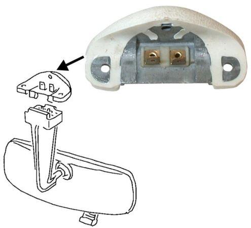 Držák zrcátka/osvětlení interiéru - T.1/14 Cabrio (1967 » 80)