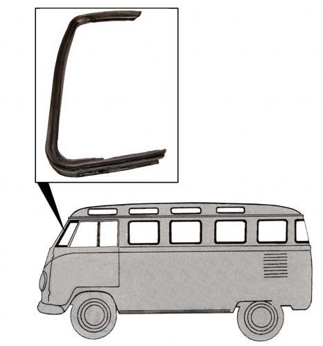 Těsnění křídla ventilace/L - Typ 2 (1953 » 67)