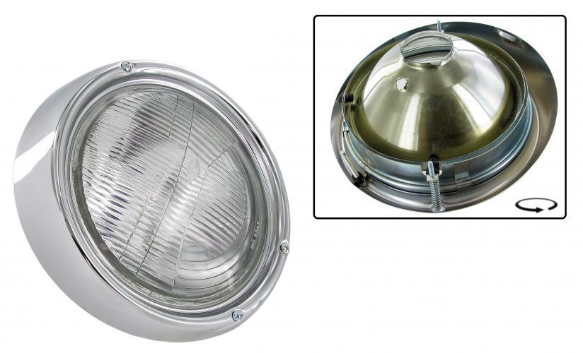 Světlomet/chrom L/P - Typ 1/2/3/181 (» 1973)