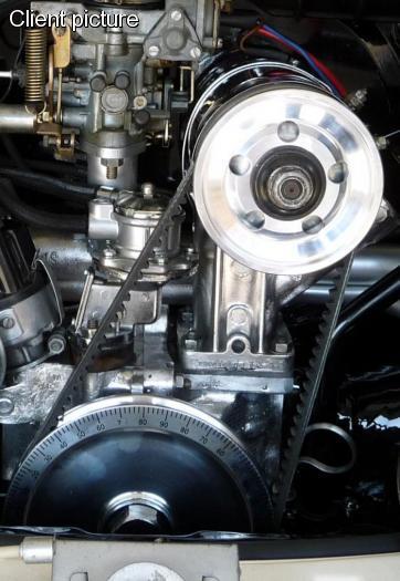 Řemen klínový OE/generátor - Typ 1 motor (1960 » 74)