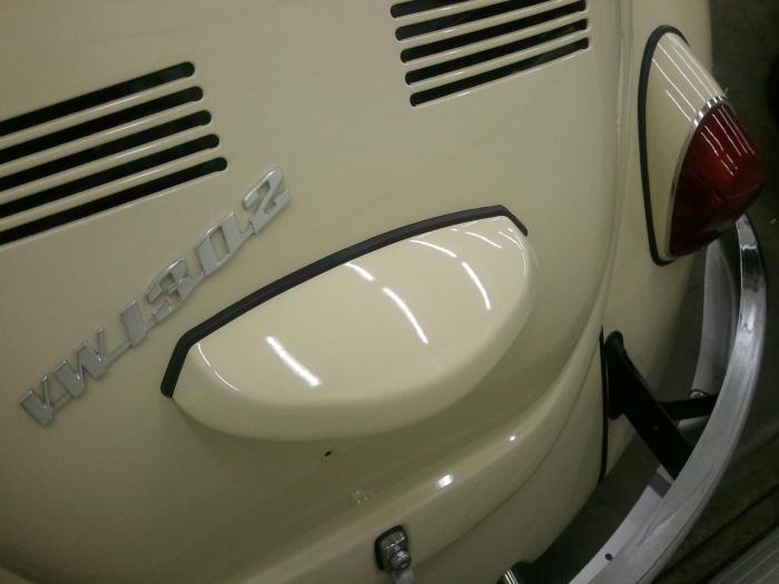 Těsnění OE/osvětlení SPZ - Typ 1 (1966 »)