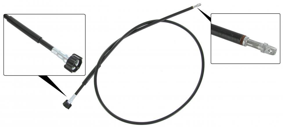 Náhon tachometru LHD - Typ 1 (1957 » 65)