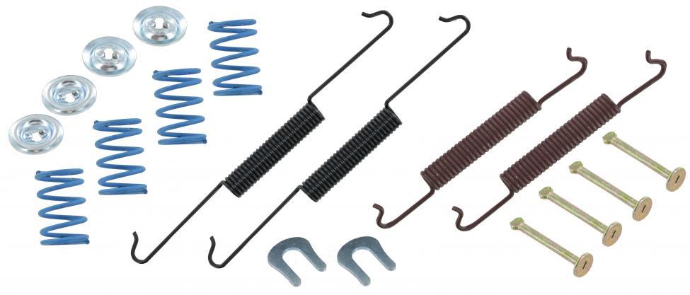 Čelisti brzd zadní/montážní kit - Typ 1/3/14 (1957 » 67)