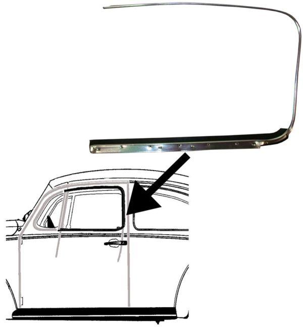 Sametka/stahování skla dveří/L - Typ 1 (1952 » 64)