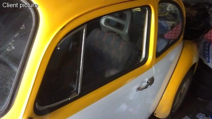 Sametka OE černá/stahování skla dveří/L - Typ 1 (1964 » 03)
