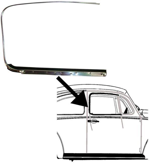 Sametka/stahování skla dveří/P - Typ 1 (1952 » 64)