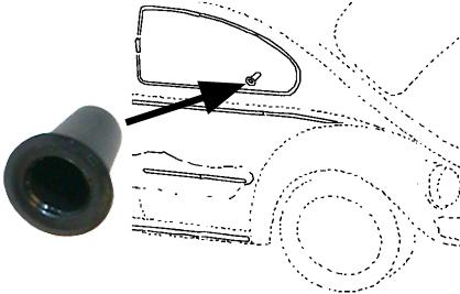 Průchodka/lišty karosérie/panely dveří - Typ 1/3/14 (» 2003)