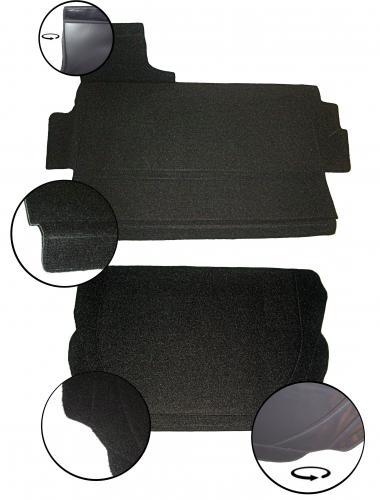 Panely zavazadlového prostoru/černá smyčka - T.1 1303 (1972 » 80)