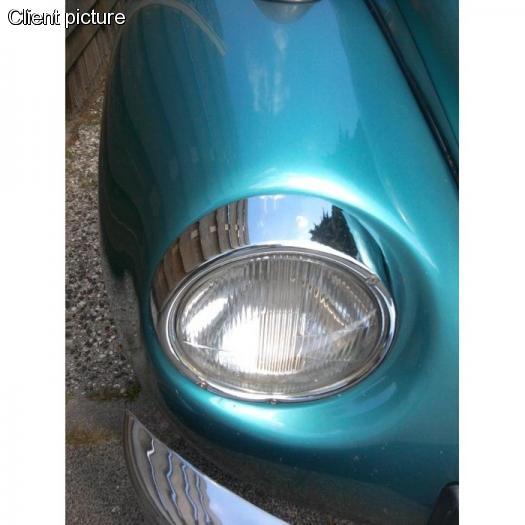 Rámeček světlometu/chrom L/P - Typ 1/2/3/181 (» 1973)