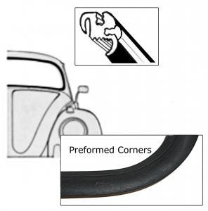 Těsnění skla pro lištu/přední - T.1 1303 US (1973 » 79)