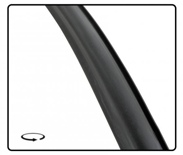 Těsnění skla pro lištu OE/přední - Typ 14 (1967 » 74)