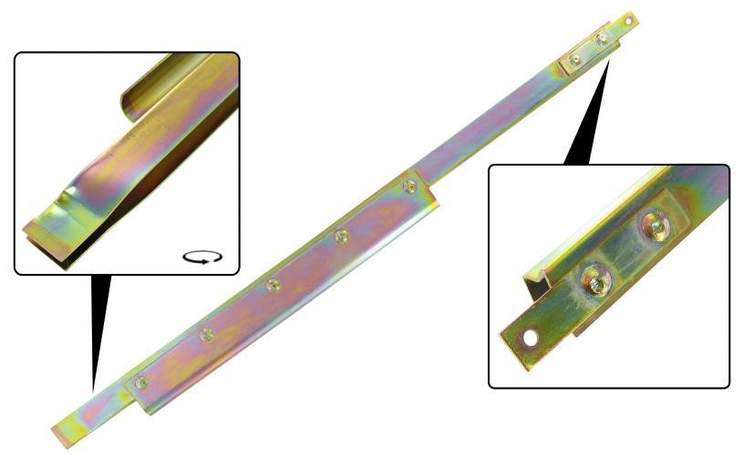 Lišta stahování skla/zadní P - T.1 Cabrio (1964 » 80)