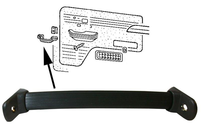 Madlo dveří L/P - Typ 2 (1967 » 79)