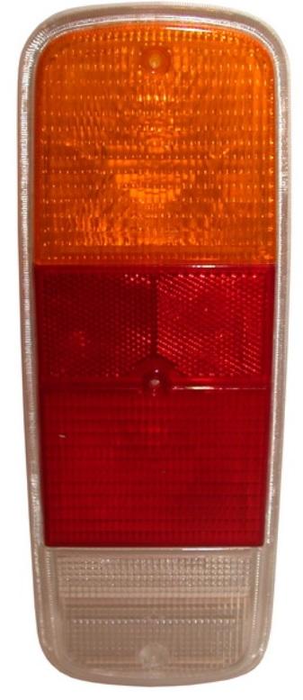 Sklo světla/zadní L/P - Typ 2 (1971 » 79)