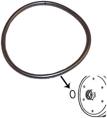 Těsnící kroužek/setrvačník motoru - Typ 1/3 motory (1966 »)
