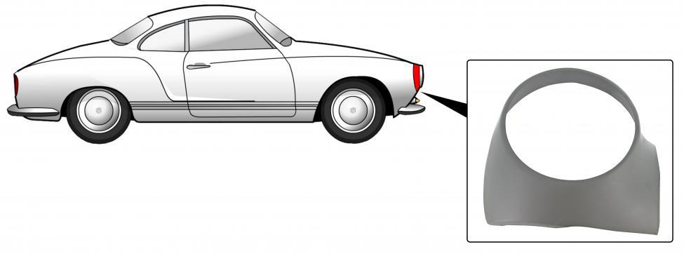 Sekce předního světlometu/P - Typ 14 (» 1974)