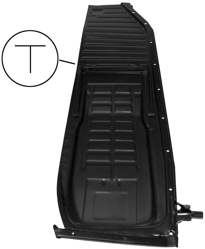 Panel podlahy/P - Typ 1 (1970 » 72)