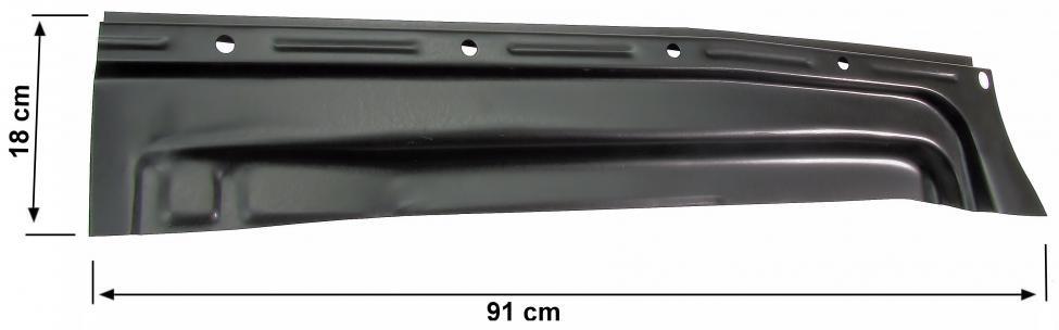 Podlaha zadní 1/4 panelu P - Typ 1 (» 1972)