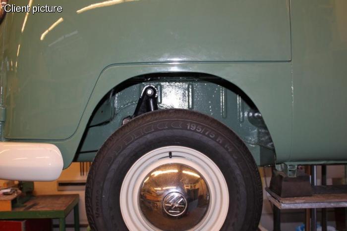 Blatník přední s výztuhou/L - Typ 2 (1963 » 67)