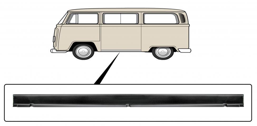 Prah vnější 4.5cm/L - Typ 2 (1967 » 79)