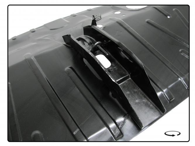 Panel podlahy/kabina - Typ 2 (1972 » 79)