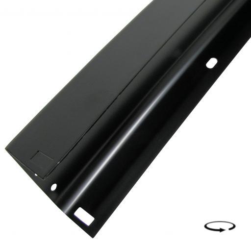 Nárazník zadní/černý - Typ 25 (1979 » 92)
