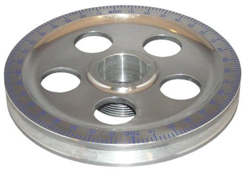Řemenice klikové hřídele Alu/modrá stupnice - Typ 1 motor (1960 »)