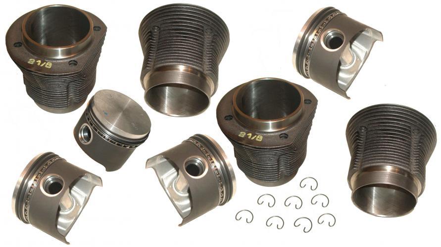 Písty/válce/kit - Typ 1/3/CT/CZ motory (69x87mm)