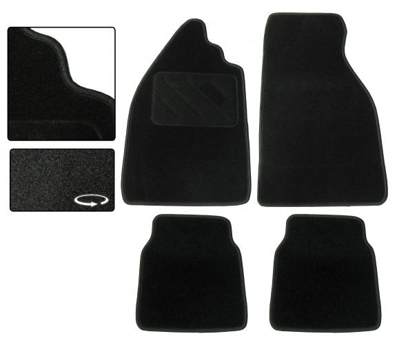 Koberce podlahy/černé - Typ 1 (» 2003)