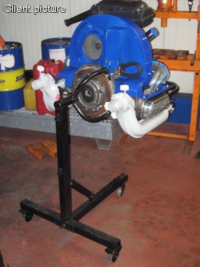 Stojan motoru HD/mobilní - Typ 1/3/IV/WBX motory (1.2-2.1)