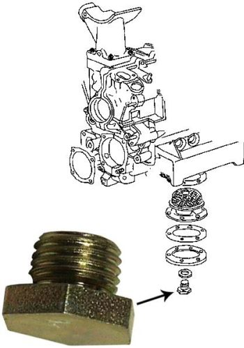 Šroub M14/výpust oleje - Typ 1/3/CT/CZ motory (» 2003)
