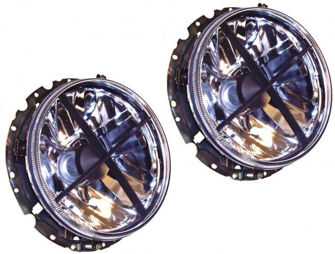 Světlomety H4/BL kristal - Typ 1/2/3/181/Golf (1973 »)