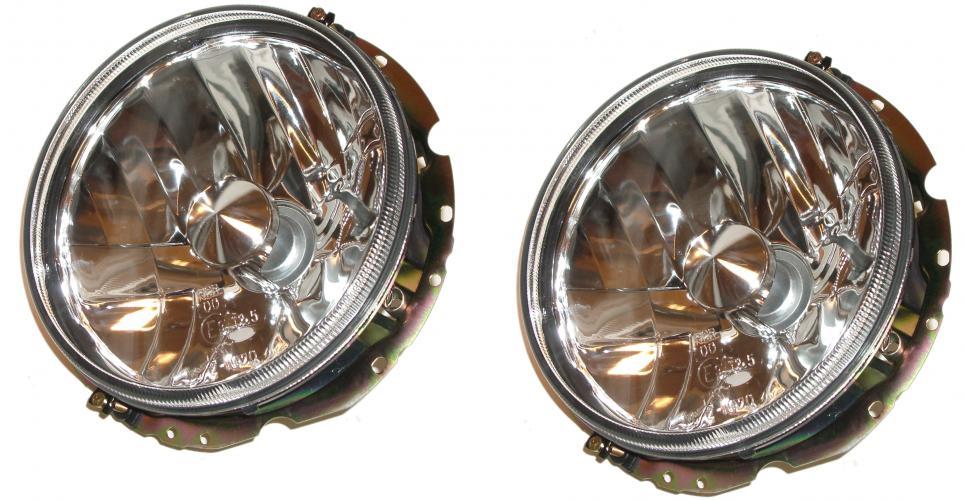 Světlomety H4/kristal L/P - Typ 1/2/3/181/Golf (1973 »)