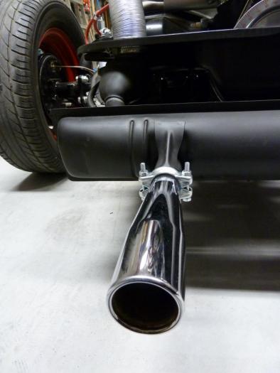 Koncovky výfuku chrom/Monza - Typ 1 motor (1955 »)