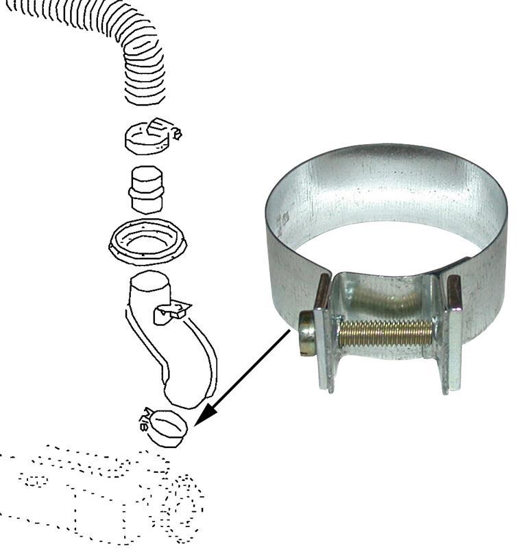 Objímky trubky topení - Typ 1 motor (1963 »)