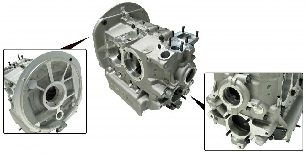Blok motoru Alu/90mm - Typ 1/3 motory (85.5-88/69mm)