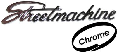 Emblem Streetmachine/chrom - Typ (univerzál)