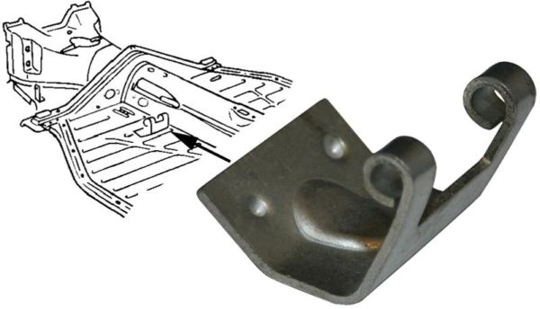 Držák pedálu plynu - Typ 1/3/14/181 (1957 »)