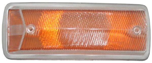 Sklo směrového světla oranž/přední L/P - Typ 2 (1967 » 72)