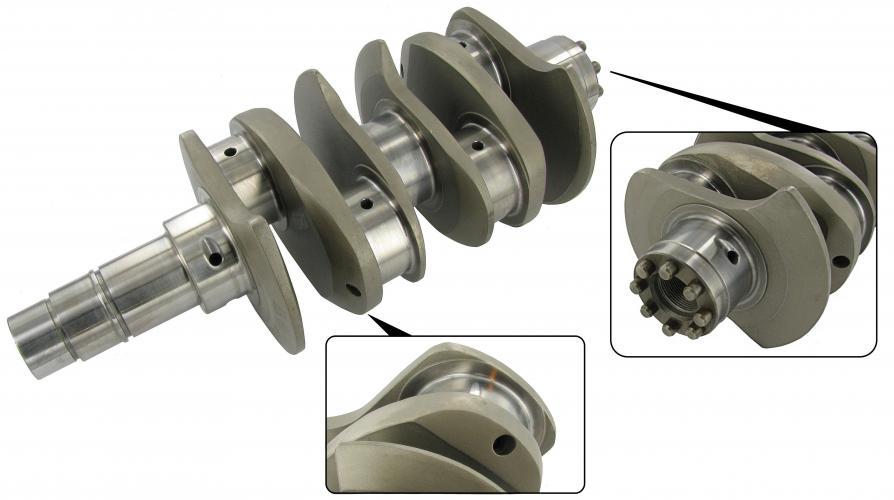 Kliková hřídel chromoly/VW Journal/zdvih 82mm - Typ 1/3 motory (race)