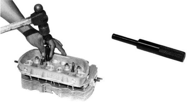 Naražeč 8mm/vodítka ventilů - Typ (univerzál)