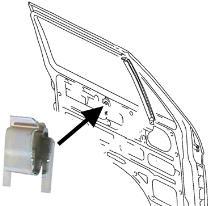 Příchytka/mechanismus okna - Typ 3/25/LT/Golf/Jetta/Scirocco (1969 » 95)